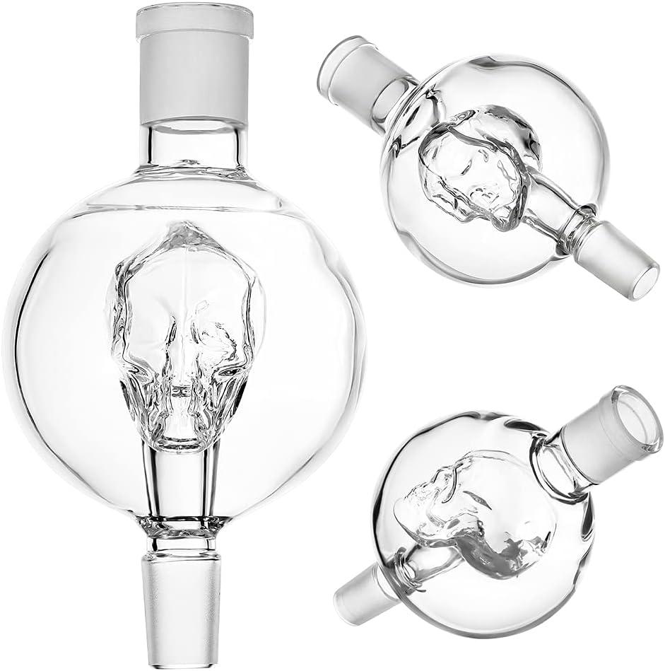 WowoHK Shisha atrapasueños diamante transparente 18/8 filo preenfriador de cristal grueso, accesorio universal Hookah para la mayoría de pipas de agua, fácil de limpiar (estilo B)