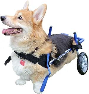 Walkin' Wheels Corgi Wheelchair - for Small Dogs 18-40+ lbs - Veterinarian Approved - Wheelchair for Back Legs