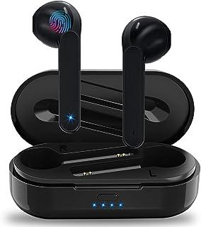 Auriculares Inalámbricos Soicear Auriculares Bluetooth 5.0 In Ear con Micrófono, HiFi Estéreo, IPX5 Impermeabile, Reproduc...