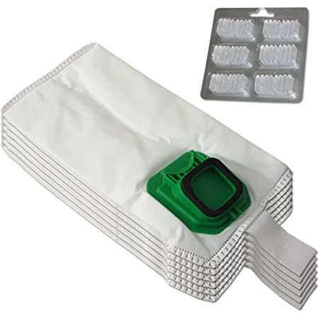 6 unidades FSProdukte Bolsas de microfieltro para aspiradoras Vorwerk Kobold 140
