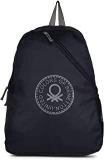 940cb67f8 United Colors of Benetton Eco Bag 19.5 Ltrs Navy/Grey Casual Backpack  (0IP6ECOBPNG2I)