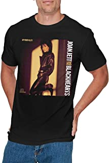 OLIVIA HARPER Mens Cool Joan Jett & The Blackhearts Tee Black