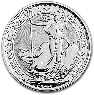 2018 UK Britannia 2 Pounds Brilliant Uncirculated