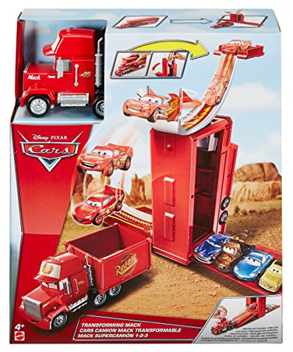 Disney- Pixar Cars Mack Transformabile 3-in-1 Playset, DVF39