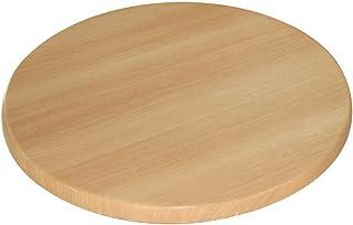 Bolero GG642 Table ronde en bois de hêtre 30 x 600 mm