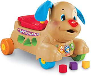 Fisher-Price Laugh & Learn Stride-to-Ride Puppy, Ride-On Toys [Amazon Exclusive] (Renewed)