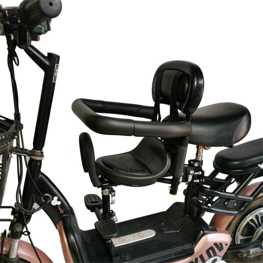 GFYWZ Sillín de Bicicleta Infantil Estable Bicicleta eléctrica Delantera Silla del bebé de una Silla colchón de Seguridad,A: Amazon.es: Deportes y aire libre