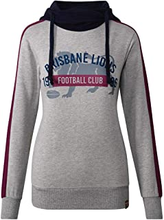 AFL Brisbane Lions Womens Lifestyle Hood