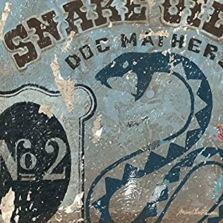 Snake Oil Salesman, Doc Mathers Apothecary Wall Art Decor- A Stretched Canvas Reproduction available in many sizes. By Aaron Christensen - Made in my Portland, Oregon studio.