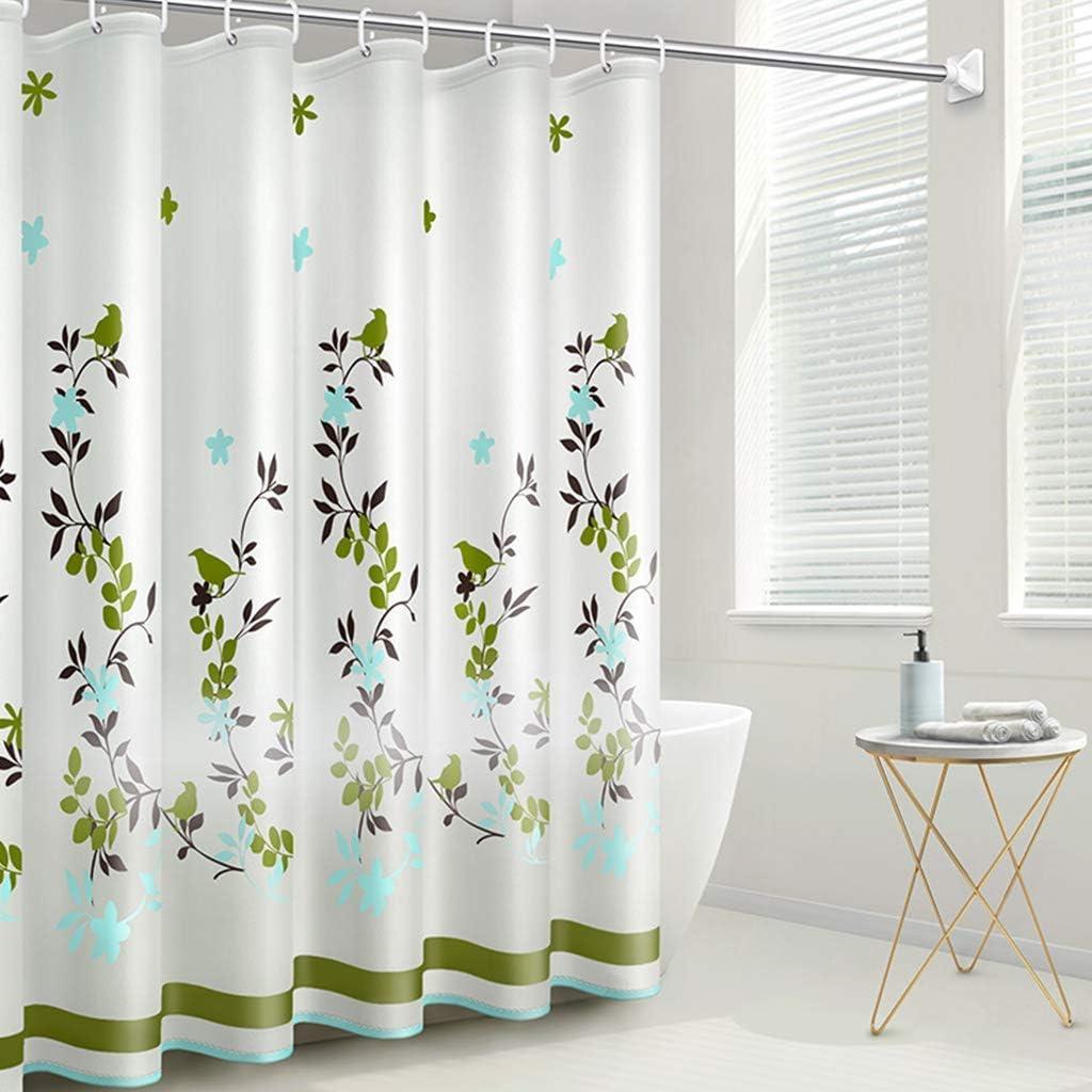 UYZ Shower Curtain PEVA Max 70% OFF Waterproof Omaha Mall Bathroom Curtains Long Showe