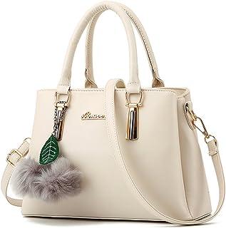 ZiXing Modetrend Handtaschen Schulter diagonal Tasche beiläufige Handtaschen Frauen Handtasche Weiß