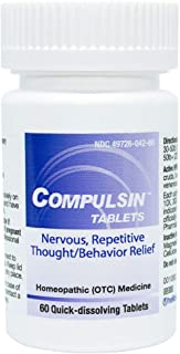 HelloLife Compulsin Tablets - Natural Relief for Nervous, Repetitive Thoughts/Behavior Symptoms - for Safe, Temporary Reli...