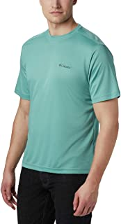 Columbia Men's Meeker Peak Short Sleeve Crew, Copper Ore,...