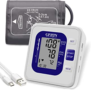 Blood Pressure Monitor Upper Arm, GPZON Accurate Digital BP