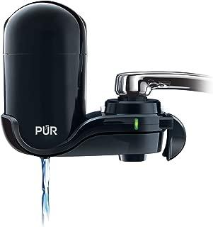PUR FM-2000B Classic Vertical Water Filtration Faucet Mount, Black