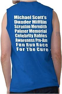 Brisco Brands Dunder Run Race Cure Funny Scranton TV Comedy Sleeveless T Shirt