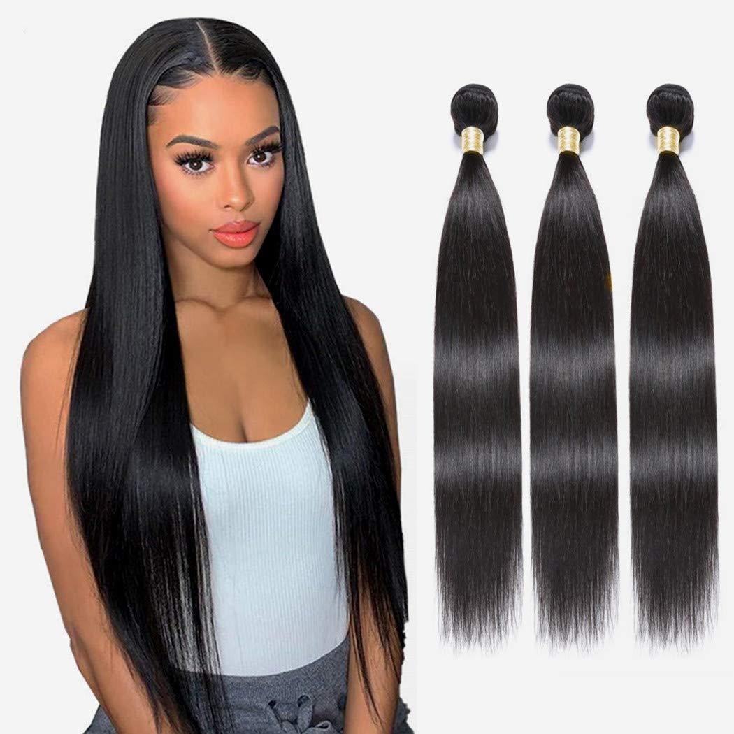 NUOF 8A Straight Human latest Hair Virgin Ranking integrated 1st place Bundles Brazilian 3 Bund