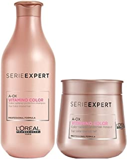 L'Oreal Serie Expert A-Ox Vitamino Color Shampoo 300ml with Masque 250 ml