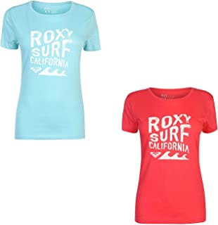 Itty Be Surf California T-Shirt Womens Top Tee Shirt Casual Wear