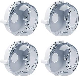 6 Pack, transparent Funhoo Herd Gas Knopf Schutz Druckknopf Abdeckung f/ür Baby Kinder Sicherheit K/üche Ofen Gasherd Bedienelemente