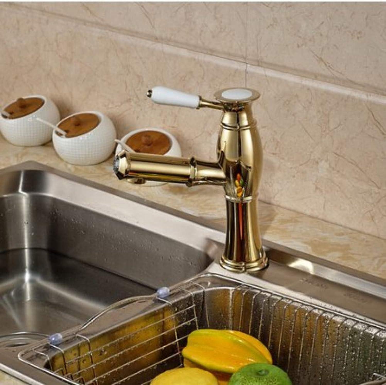 360° redating Faucet Retro Faucetkitchen Faucet Bathroom Kitchen Hot Cold Water Faucet