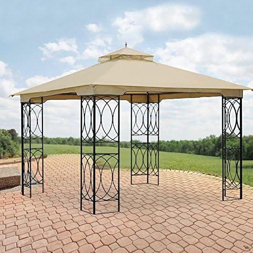 Garden Winds Jasper Gazebo Max 78% OFF Replacement Top Cover Award-winning store RipLoc - Canopy