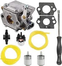 Mckin TB20CS 753-05133 Carburetor fits Troy Bilt TB10CS TB20DC TB70FH TB70SS TB90BC Trimmer TB320BV Blower WT-827 with Fuel Line Repower Kit