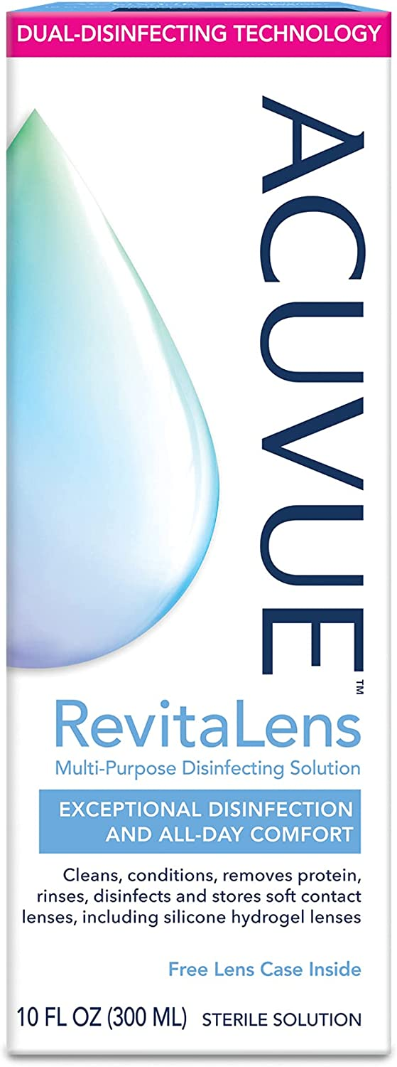 ACUVUE® RevitaLens Multi-Purpose Disinfecting sold out unisex Solution oz 10