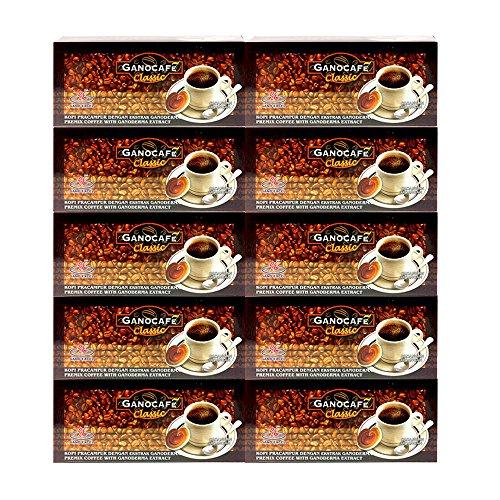 Ganocafe Classic Black Coffee Ganoderma 10 Box