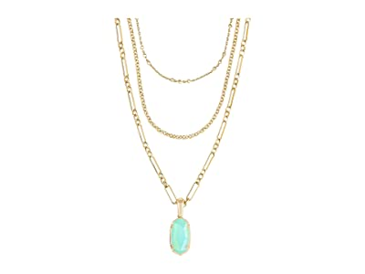 Kendra Scott Elisa Triple Strand Necklace