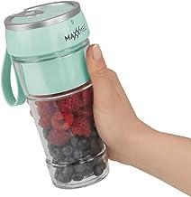 MAXXMEE Smoothie Maker to Go Draagbare mini-mixer draadloos, batterijmixer voor smoothies, USB draagbare blender, mix it f...