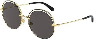 Dolce & Gabbana Occhiali da sole DG2262 133487 occhiali Donna colore Oro lente grigio taglia 58 mm