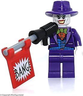 LEGO The Joker Minifigure, from DC Comics Super Heroes Set 76013