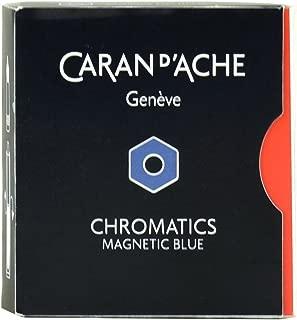 caran d ache magnetic blue ink