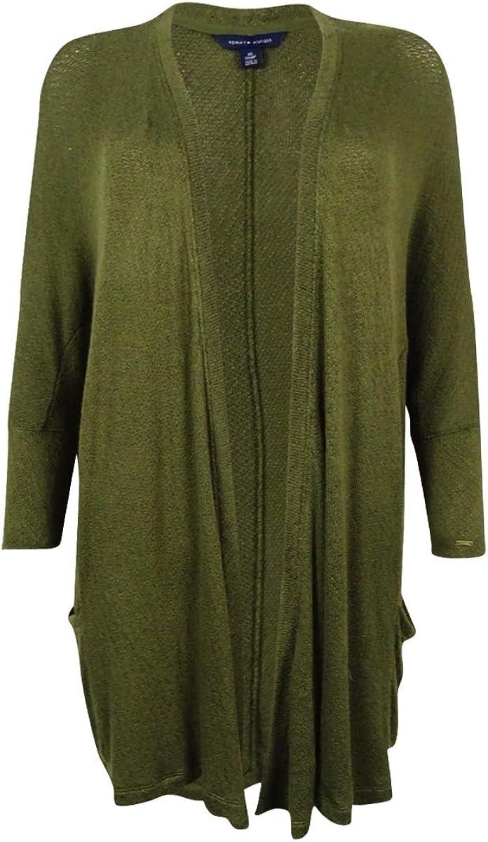 Tommy Hilfiger Women's Holly Drapey Cardigan Sweater