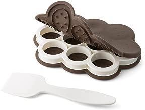 Chef'n 107-140-251 SweetSpot Mini Ice Cream Sandwich Maker (Fudge/Coconut), Standard, Small