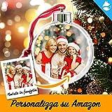 Arctic Fox Pallina Decorazione Natalizia Addobbo Natalizio per Albero di Natale Ornamento Idea Regalo per Natale Personalizzabile su Amazon con la Tua Foto o Dedica