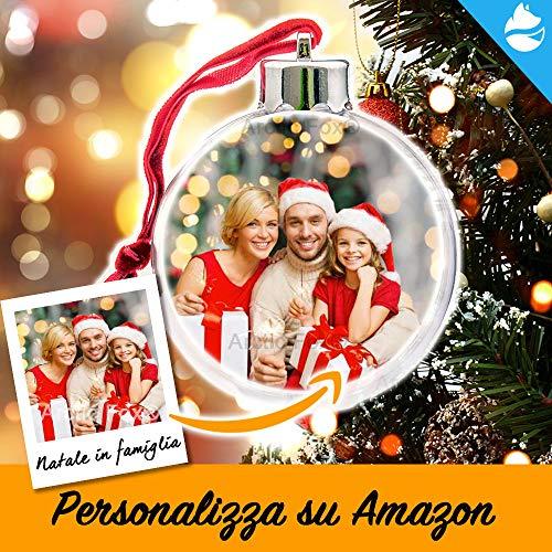 Arctic Fox - Bola de decoración navideña para árbol de Navidad, Adorno de Navidad, Idea de Regalo para Navidad, Personalizable en Amazon con tu Foto o Diga