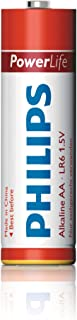 Philips Power Alkaline battery, Blister pack, AA, Red, 4 Count