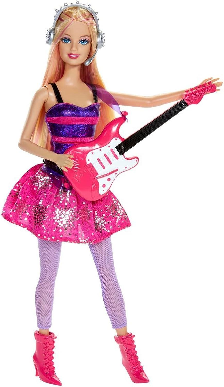 autorización oficial Barbie Cocheeers Rock Estrella Doll by by by Barbie  colores increíbles