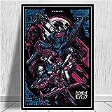 Ami0707 Leinwand HD-Druck Cowboy Bebop Anime Poster