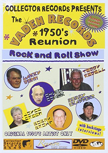 The Vaden Records 1950's Reunion Rock'n'Roll Show