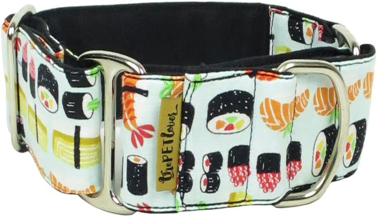 High quality ThePetLover Martingale Super sale Sushi Dog S Collar