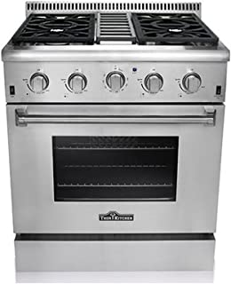 "Thor Kitchen HRG3080U 30"" Freestanding Professional Style Gas Range with 4.2 cu. ft..."