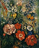 The Museum Outlet–Bouquet de fleurs, 1879–80–Canvas Print Online Buy (152,4x 203,2cm)