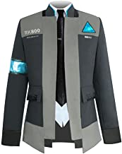 Detroit Become Human Connor Jacket Suit Cosplay Costume for Men