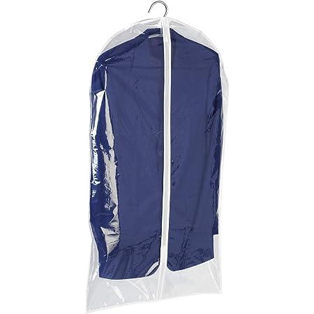 WENKO Housse vêtements transparent, Polyéthylène, 60 x 100 cm, Transparent