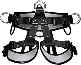 CZJUN Pro Tree Carving Fall Protection Rock Climbing Equip Gear Rappelling Harness