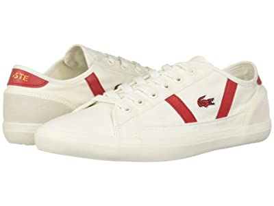 Lacoste Sideline 119 1 (Off-White/Red) Women