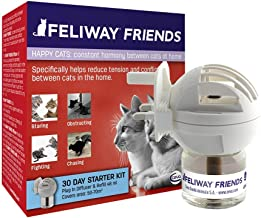 FELIWAY Friends 30 Day Starter Kit. Diffuser and Refill. Helps to reduce conflict in multi-cat households, helping cats get along better